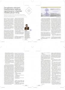 Arkadiusz Zalewski - Zarządzanie relacjami inwestorskimi poprzez raportowanie o kapitale intelektualnym firmy